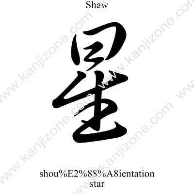 Shaw in Japanese